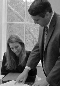 Joe Weston and Julie Craig